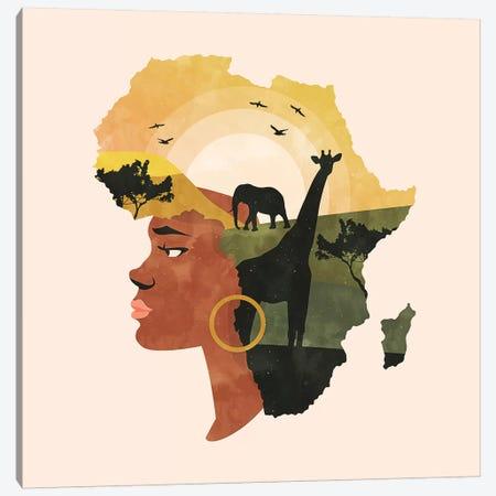 Africa Love Canvas Print #UMA330} by 83 Oranges Canvas Print