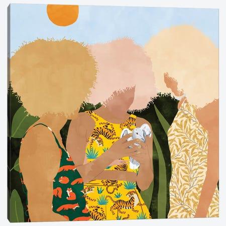 A Three Way Love Affair With Nature Canvas Print #UMA332} by 83 Oranges Canvas Art Print