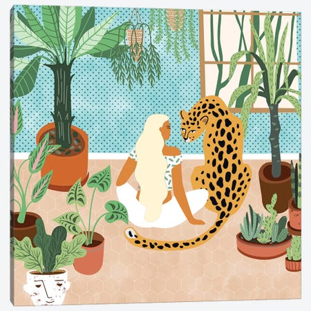 Urban Jungle Canvas Print #UMA344} by 83 Oranges Art Print