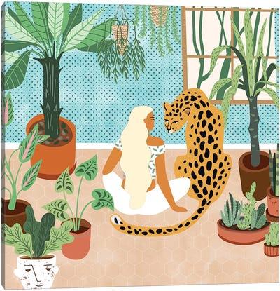 Urban Jungle Canvas Art Print