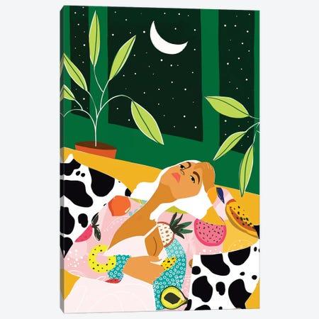 Moon Lover Canvas Print #UMA350} by 83 Oranges Canvas Art Print