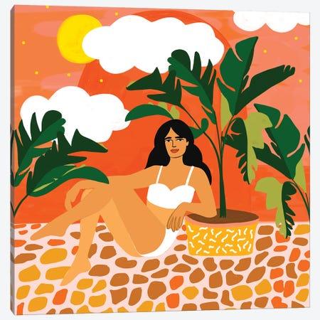 Life With Banana Trees Canvas Print #UMA359} by 83 Oranges Canvas Print
