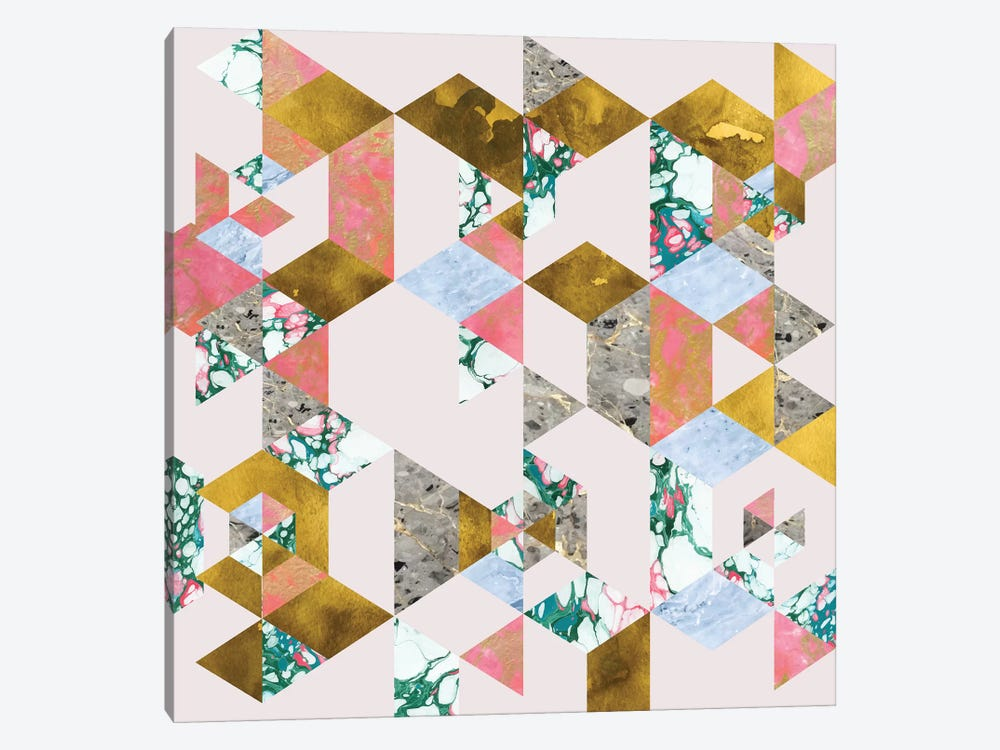 Geometry Of Love by 83 Oranges 1-piece Canvas Print