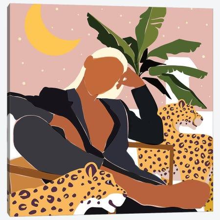 Girl Boss Canvas Print #UMA365} by 83 Oranges Canvas Art Print