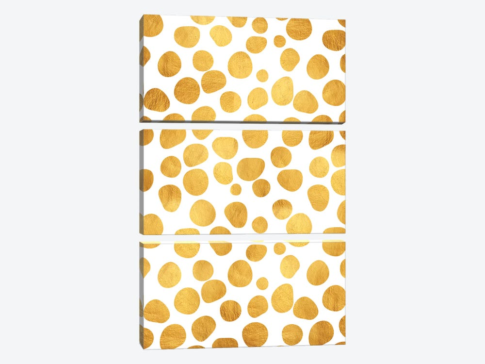 Gold Spots by 83 Oranges 3-piece Canvas Wall Art