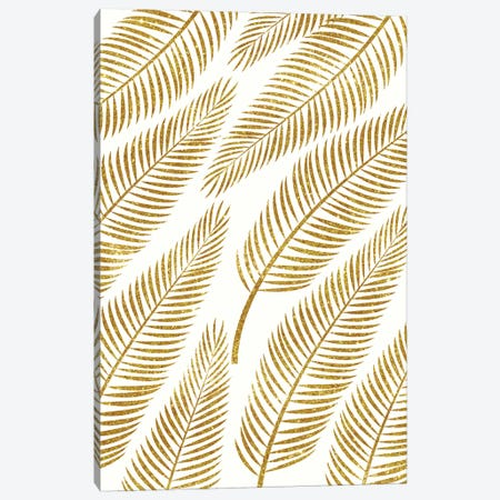 Golden Palm  Canvas Print #UMA37} by 83 Oranges Art Print