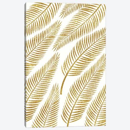 Golden Palm  Canvas Print #UMA37} by 83 Oranges Art Print