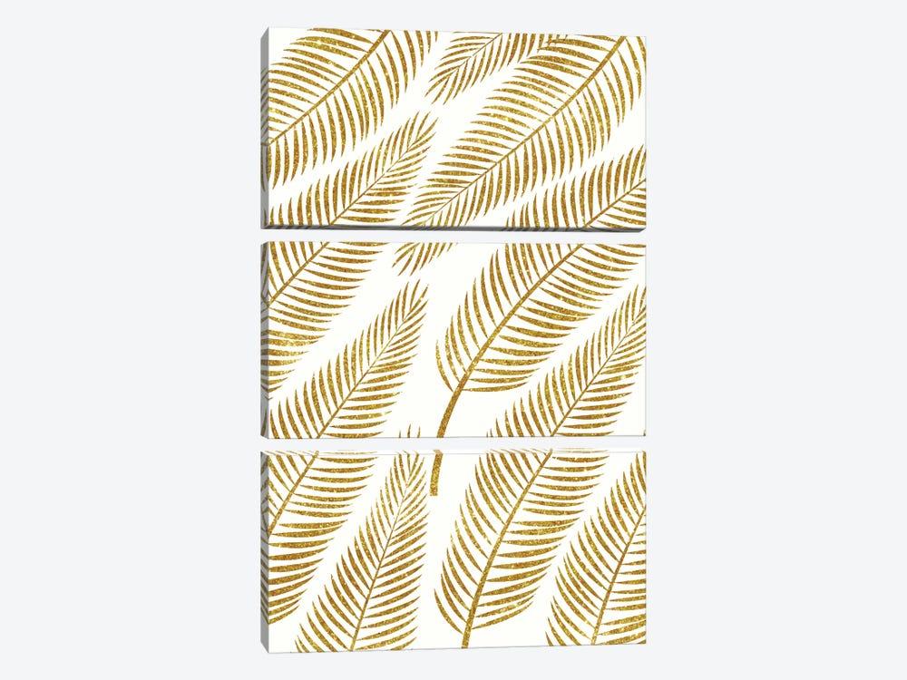 Golden Palm  by 83 Oranges 3-piece Canvas Art Print