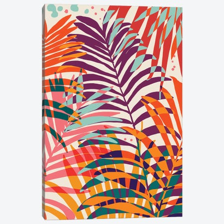 Find Me Under The Palms Canvas Print #UMA380} by 83 Oranges Canvas Wall Art