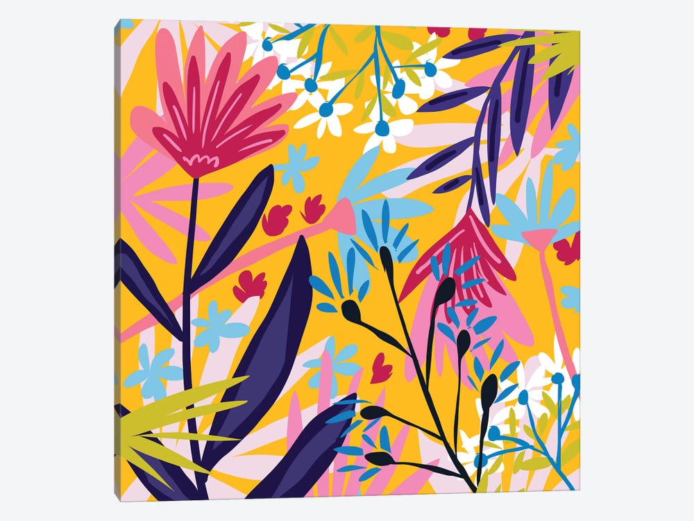 The Garden Of My Mind by 83 Oranges 1-piece Canvas Wall Art
