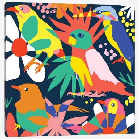 Flamboyant, Unashamed & Free Canvas Print #UMA383} by 83 Oranges Canvas Art