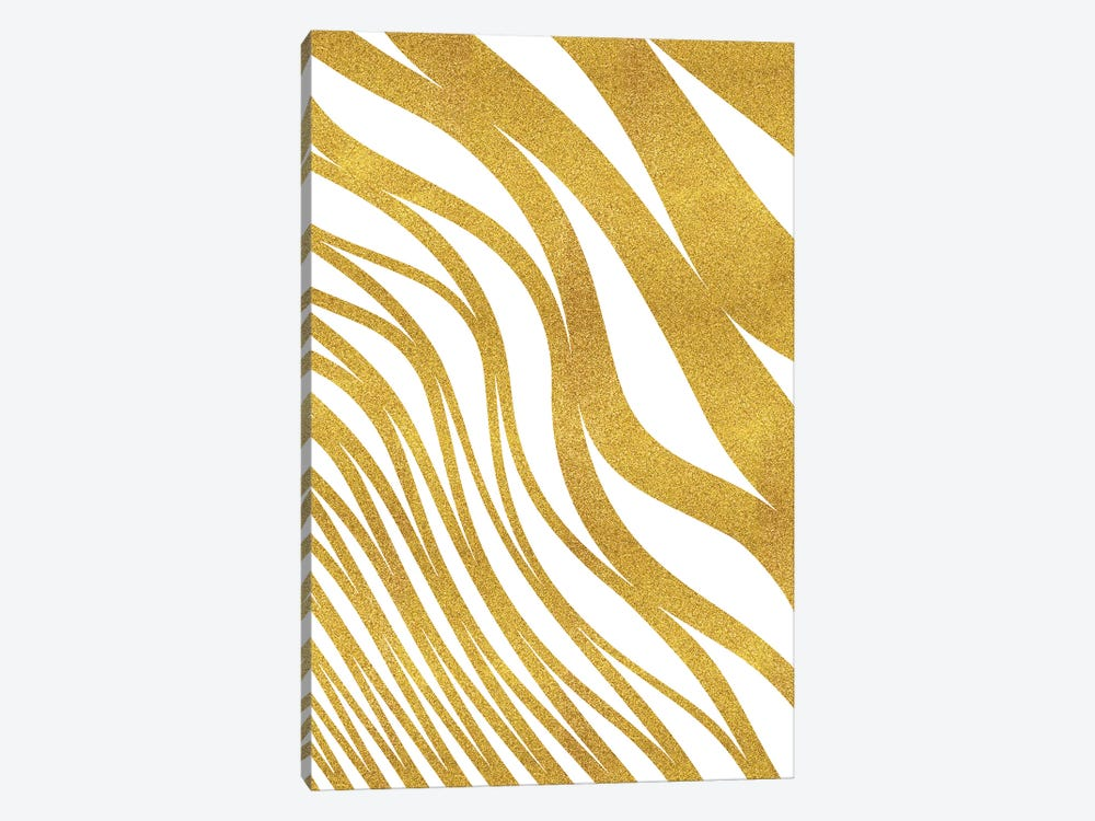 Golden Wave by 83 Oranges 1-piece Canvas Wall Art