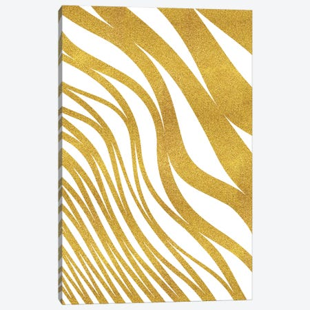 Golden Wave Canvas Print #UMA38} by 83 Oranges Canvas Wall Art