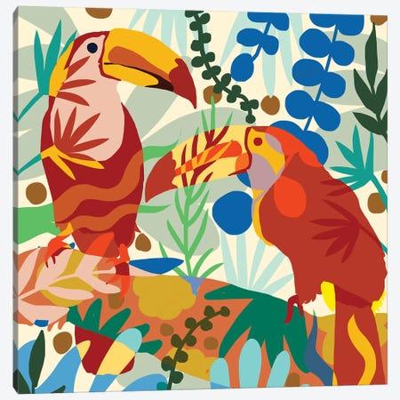 Toucan Of My Love Canvas Print #UMA395} by 83 Oranges Canvas Artwork