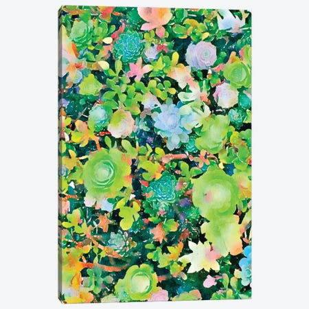 The Desert Works Constantly To Forbid It, But The Cactus Blooms Anyway Canvas Print #UMA410} by 83 Oranges Canvas Wall Art