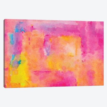 Be A Rainbow In Someone's Cloud Canvas Print #UMA411} by 83 Oranges Canvas Wall Art