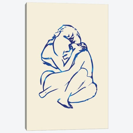 You Put Your Arms Around Me & I'm Home Canvas Print #UMA417} by 83 Oranges Canvas Print