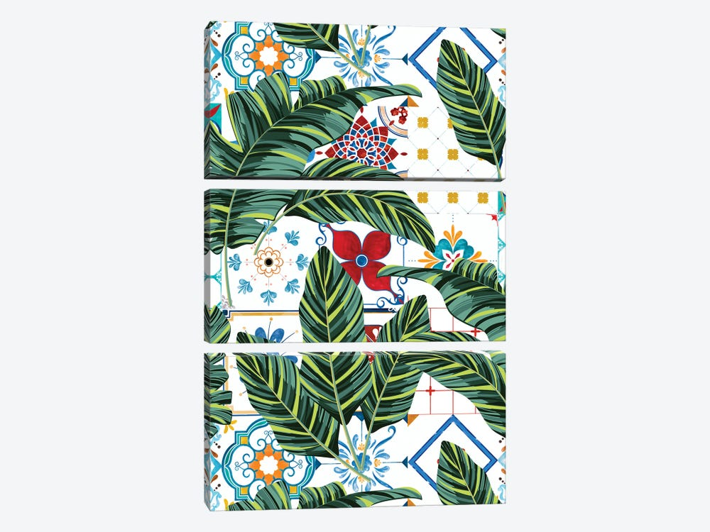 Plant A Garden In Which Strange Plants Grow & Mysteries Bloom by 83 Oranges 3-piece Art Print