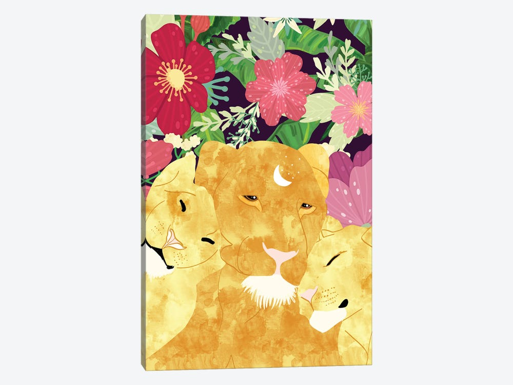 A Sincere Promise I Made To Myself, To Be Your Lioness When Things Are Messed by 83 Oranges 1-piece Canvas Wall Art