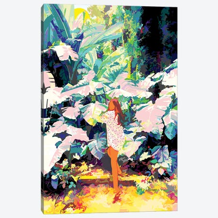 My Wish Is To Stay Always Like This, Living Quietly In A Corner Of Nature Canvas Print #UMA431} by 83 Oranges Canvas Art