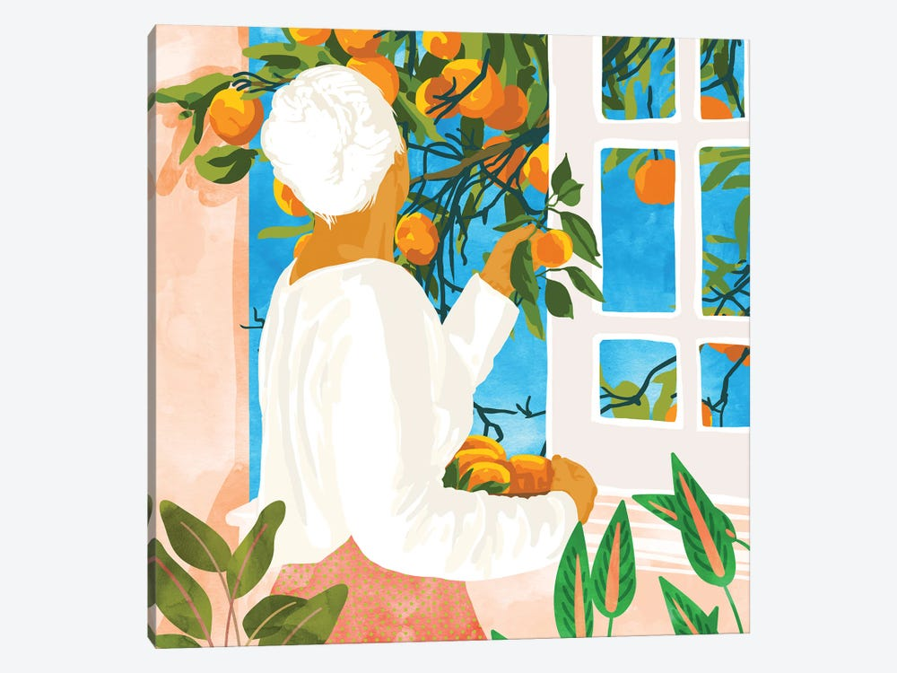 A Few Bad Oranges Is No Reason Not To Bring The Grove Home by 83 Oranges 1-piece Canvas Artwork