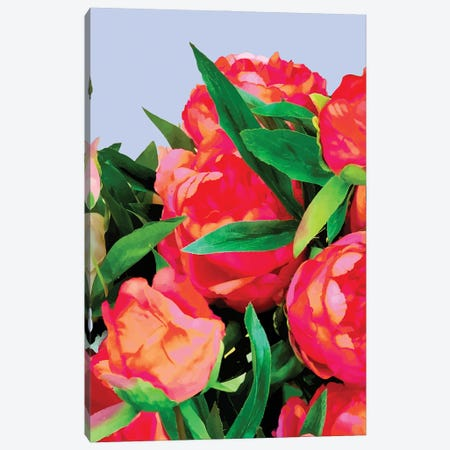 I'd Rather Wear Flowers In My Hair Than Diamonds Around My Neck 3-Piece Canvas #UMA438} by 83 Oranges Canvas Art