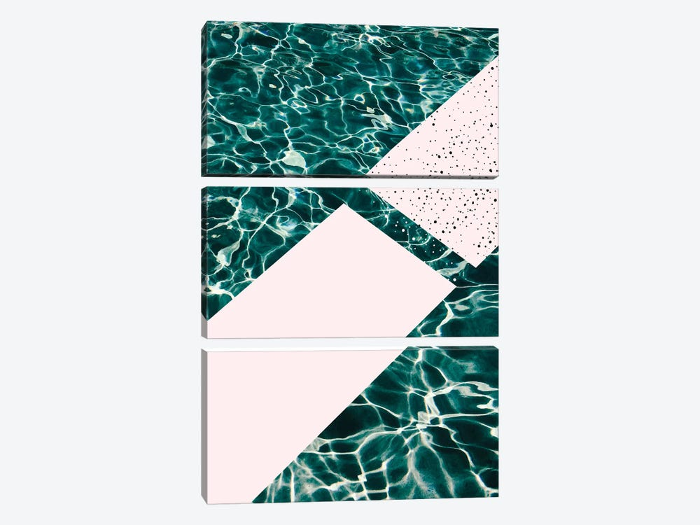 Jump In! by 83 Oranges 3-piece Canvas Wall Art