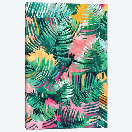 I'm All About Palm Trees & 80 Degrees Canvas Print #UMA442} by 83 Oranges Canvas Art Print