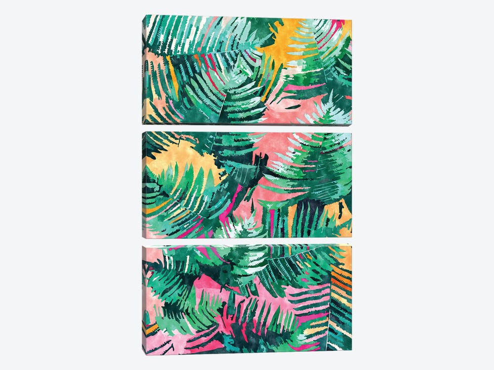I'm All About Palm Trees & 80 Degrees by 83 Oranges 3-piece Canvas Art Print