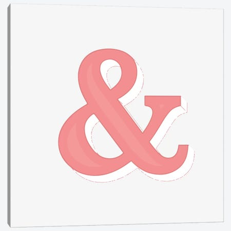 Just An Ampersand Canvas Print #UMA44} by 83 Oranges Canvas Art