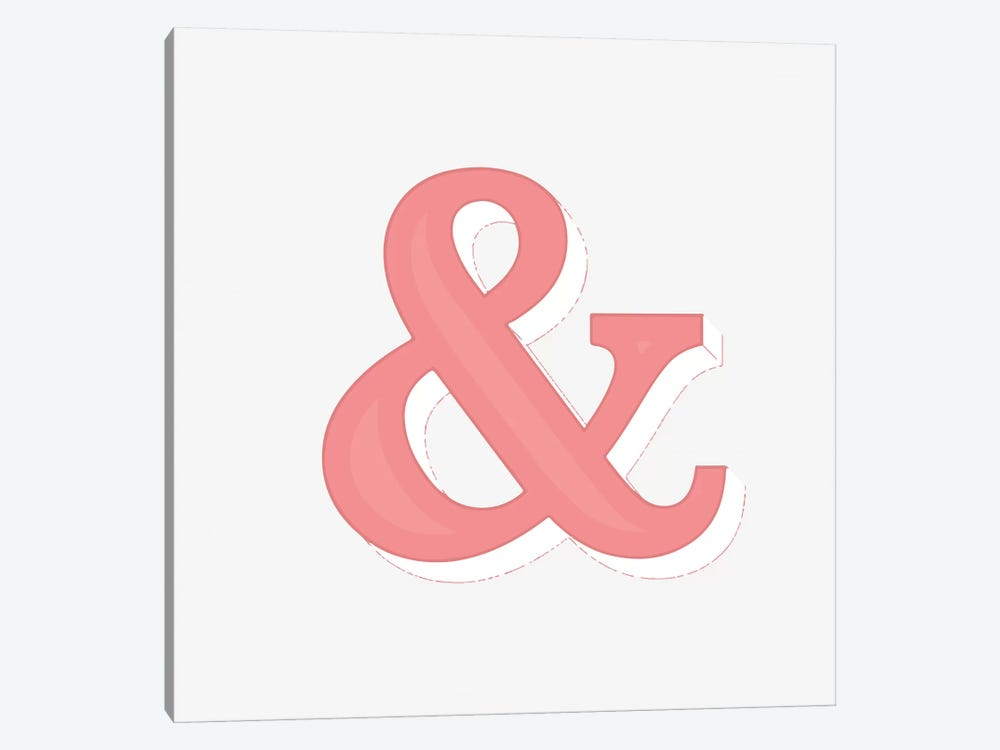 Just An Ampersand by 83 Oranges 1-piece Art Print
