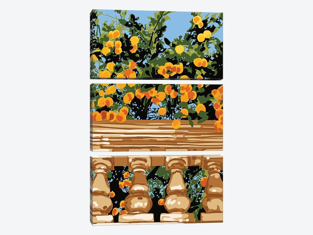 No Matter What Happens, As Long As You Have Faith In Yourself, No Darkness Can Touch You by 83 Oranges 3-piece Canvas Print