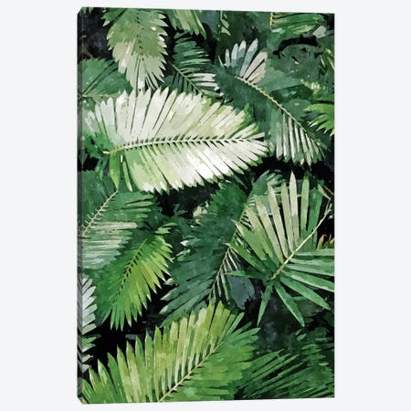 Life Is Better With Palm Trees Canvas Print #UMA459} by 83 Oranges Canvas Artwork