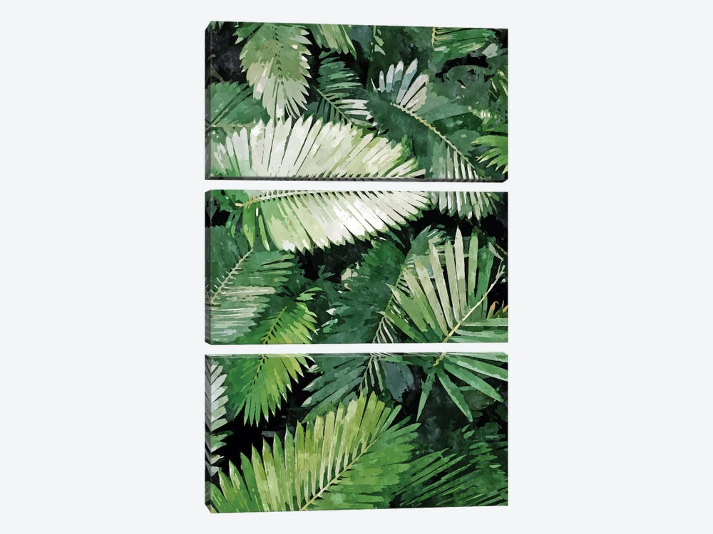 Life Is Better With Palm Trees by 83 Oranges 3-piece Canvas Art Print