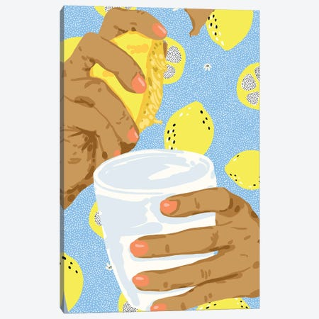 Squeeze The Day Canvas Print #UMA460} by 83 Oranges Canvas Print