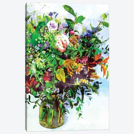 I Must Have Flowers, Always & Always Canvas Print #UMA465} by 83 Oranges Canvas Artwork