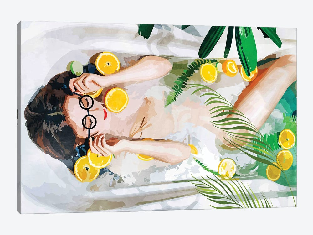 When All Else Fails, Take A Bath by 83 Oranges 1-piece Art Print