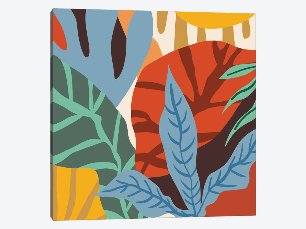 Wherever Life Plants You, Bloom With Grace by 83 Oranges 1-piece Canvas Art Print