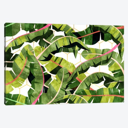 Banana Leaf Salad With Garlic Butter Dressing Canvas Print #UMA479} by 83 Oranges Canvas Artwork