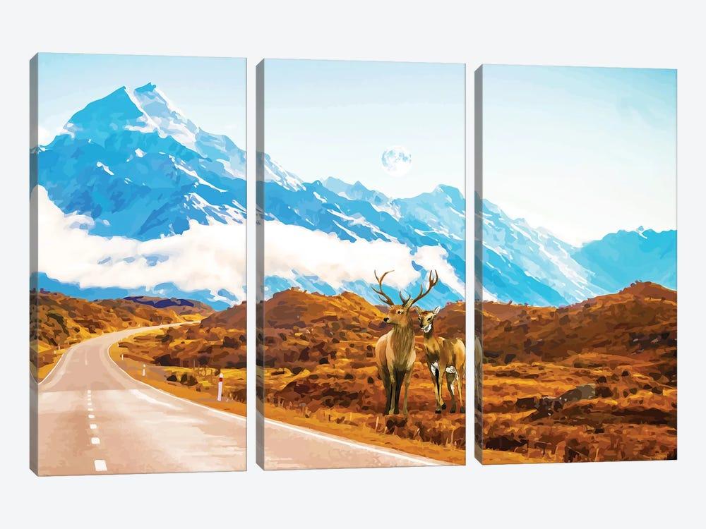 Wildlife by 83 Oranges 3-piece Canvas Art