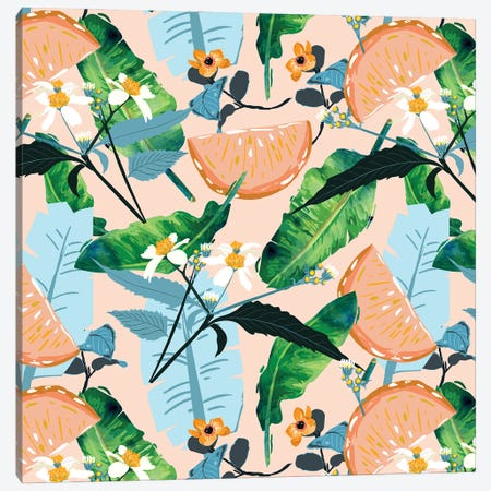 Summer Botanicals Canvas Print #UMA486} by 83 Oranges Canvas Wall Art