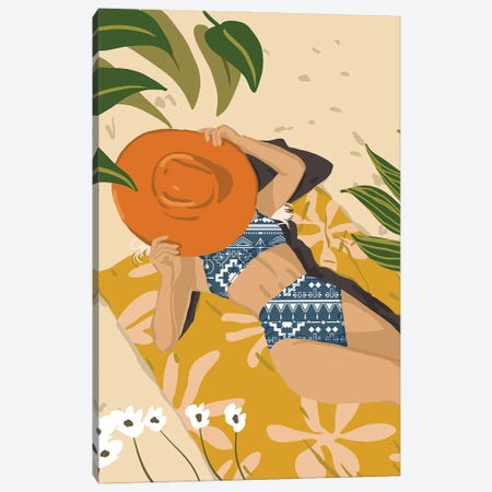 Wherever You Go, Bring Your Own Sunshine Canvas Print #UMA490} by 83 Oranges Canvas Wall Art