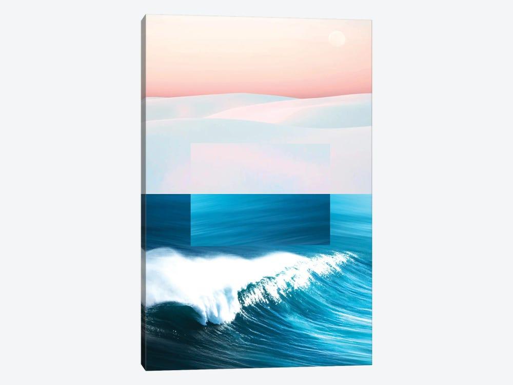 Ocean & Moon by 83 Oranges 1-piece Canvas Art