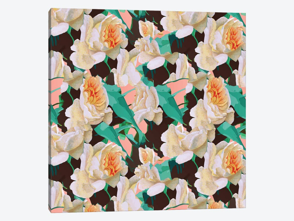 Tropical & White Blossom by 83 Oranges 1-piece Canvas Wall Art