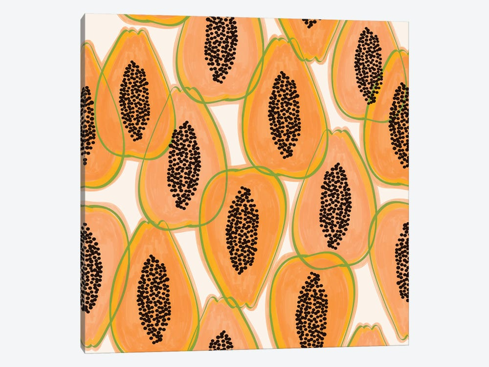 Papaya Cravings by 83 Oranges 1-piece Art Print