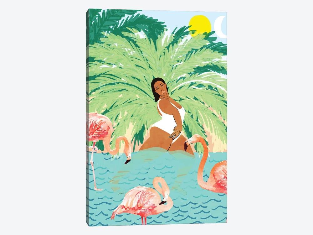 Water Yoga by 83 Oranges 1-piece Canvas Artwork