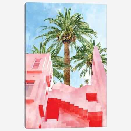Pink Tropical Canvas Print #UMA516} by 83 Oranges Canvas Artwork