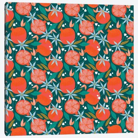 Summer Pomegranate Canvas Print #UMA519} by 83 Oranges Canvas Print