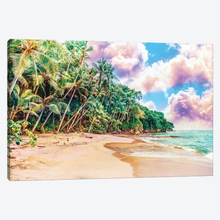 Beach Now Canvas Print #UMA521} by 83 Oranges Canvas Art