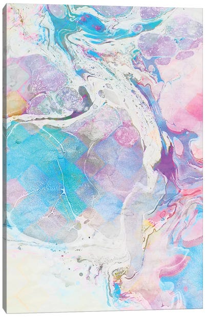 Messy Paint Only Canvas Art Print